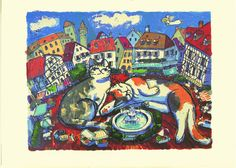 Two Cats on the Old Town - Michael Leu