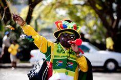 Bafana Bafana supporter. African Culture, Football Fans, South Africa, Soccer, People, Futbol, Soccer Ball, Football, People Illustration
