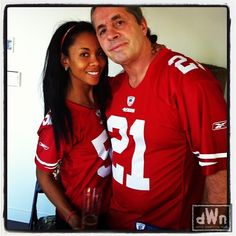 Bret Hart with beautiful, Wife Stephanie Washington