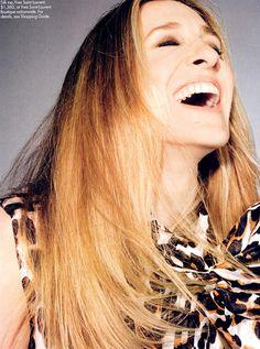 sarah+Jessica+laughting | Sarah Jessica Parker - Photos, Videos, Links