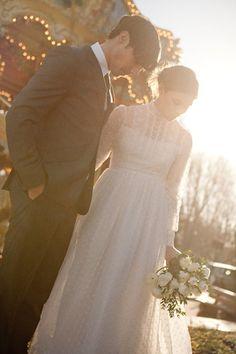 vintage-paris-wedding-elopement-swiss-dot-dress-gown-fur-coat-peonies-5