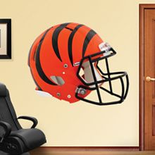 21306ddac Cincinnati Bengals  Helmet - Huge Officially Licensed NFL Removable Wall  Decal