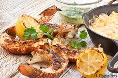 Yum, BBQ Lobster Tails