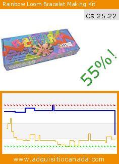 Rainbow Loom Bracelet Making Kit (Toy). Drop 55%! Current price C$ 25.22, the previous price was C$ 56.64. http://www.adquisitiocanada.com/twistz-bandz/rainbow-loom-bracelet