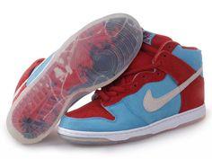 Femme Nike SB Dunk High PREM Tricolor Bleu/Blanc/Rouge