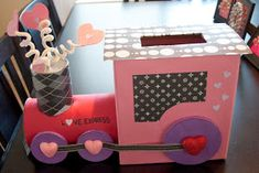 Every year my girls get so excited to create their one of a kind Valentine box for their parties at school. We've done everything from c...