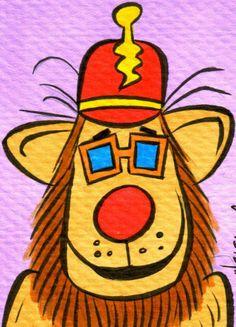 Banana Splits - Drooper by Patrick Owsley Classic Cartoon Characters, Classic Cartoons, Cute Characters, Disney Characters, Banana Splits Tv Show, Old School Cartoons, Freelance Illustrator, Sweet Memories, A Comics