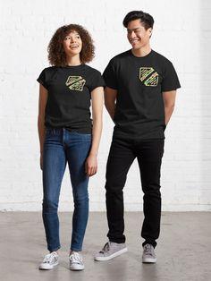 T-shirt «casse croute», par ModeUnique | Redbubble Call Me By, Mode Unique, Swag Style, Tshirt Colors, Chiffon Tops, Female Models, Classic T Shirts, Heather Grey, Shirt Designs