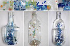 Vitrofusion Glass bubble art