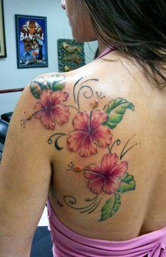 17 flower tattoo
