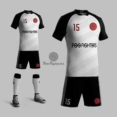Uniformes: E se as bandas de rock virassem times de futebol?