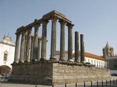 The Roman Temple of Évora (Portuguese: Templo romano de Évora), #thibaultgond