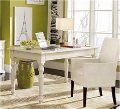 white desk!