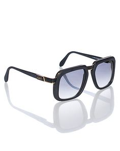 17060edd4c CAZAL Upscale sunglasses UV protection Thick lenses for ultimate  performance Synthetic frame with golden appliqué Extra clear lenses included