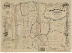 Mecklenburg County Virginia 1870 - Old Wall Map With Homeowner names Reprint Loudoun County Virginia, Farm Name, Ohio Map, Madison County, District Court, Old Wall, Wall Maps, Historical Maps, Library Of Congress