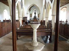 Houghton Hall: Inside St Martin's church