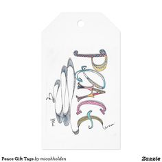 Peace Gift Tags Pack Of Gift Tags