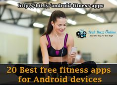 20 of the very best #fitnessapps that you can get on the app market to stay healthy and fit.