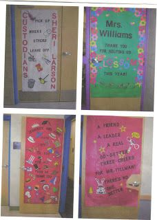 Teacher Appreciation Doors