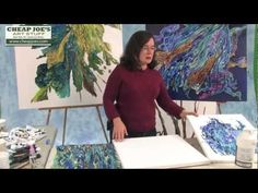 Acrylic Painting Tutorial: Collage and Transfer on Canvas.Translation from my other video for you - YouTube