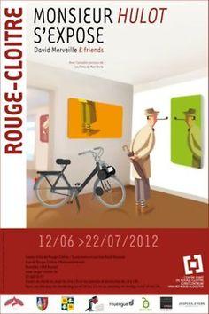 David Merveille & friends & www.rouge-cloitre.be 12 juin 2012 - 22 juillet 2012 Centre d'Art de Rouge-Cloître 4, rue de Rouge-Cloître 1160 Auderghem  Belgique