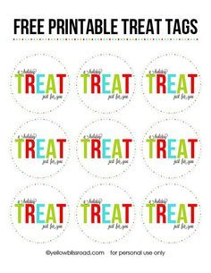 FREE PRINTABLE TREAT
