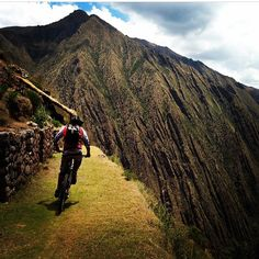 Awesome Rider-submitted photo by @diego02138 in breathtaking Peru.