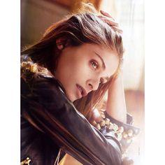 Elle Italia February 2011: Elisa Sednaoui by Matt Jones ❤ liked on Polyvore