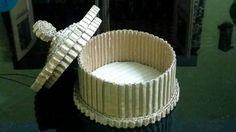 How to make a cardboard jewellery box