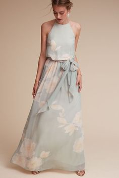 sky blue | Alana Dress from BHLDN