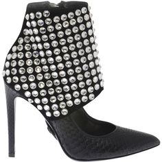 "PHILIPP-PLEIN.com | HIGH HEEL ""MORNING STAR"" | PHILIPP PLEIN SHOES (111.740 RUB) ❤ liked on Polyvore featuring shoes, high heeled footwear, star shoes, high heel shoes, philipp plein and philipp plein shoes"