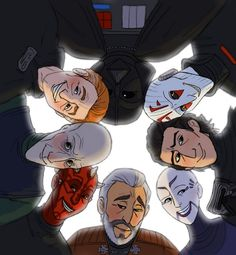 May 5th - Star Wars Villain's DayRevenge of the Fifth! Featuring:Count Dooku, Asajj Ventress, Kylo Ren, the Inquisitor, Darth Vader, Darth Sidious, Darth Plagueis and Darth Maul.