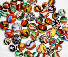 Most Valuable Marbles | Machine Made Glass Marbles - Early 1900's to 1970