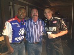 Antron, Selzi and The Sarge
