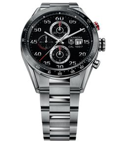 Tag Heuer Men's Swiss Automatic Chronograph Carrera 1887 Stainless Steel Bracelet Watch 43mm CAR2A10.BA0799
