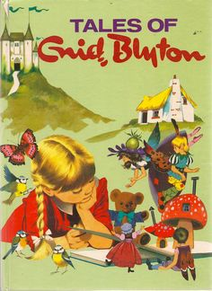 """Tales of Enid Blyton"", illustrated by Susan Aspey, via Etsy."