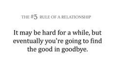 It's always hard to say goodbye.