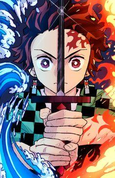 Anime: Demon Slayer Kimetsu No Yaiba <Don't forget to support the artist> Anime Angel, Anime Demon, Otaku Anime, Manga Anime, Cool Anime Wallpapers, Cute Anime Wallpaper, Animes Wallpapers, Wallpaper Art, Photo Wallpaper