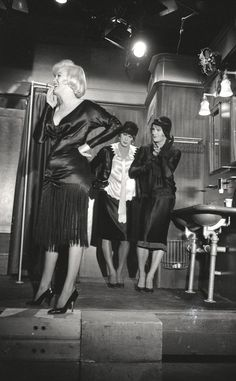Marilyn, Tony Curtis and Jack Lemmon on the set of Some Like It Hot, 1958.