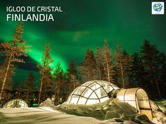 ⛄ Dormir en un Igloo de cristal en #Finlandia