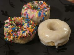 Vegan doughnut recipe (part of my way to increase vegetables and decrease meat in my daily eating habits)
