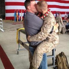 This picture makes me really happy!!!!! All our soldiers are fighting the same war to get home to those they love!!!!