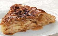 Skinny Points Recipes » Upside-Down Apple Pie Recipe