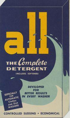 All / Vintage Detergent Packaging