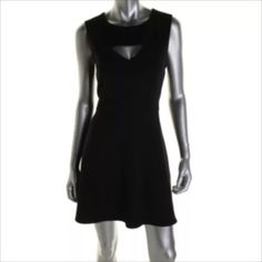 NWT✨FRENCH CONNECTION Black Cut-Out Cocktail Dress Manufacturer: French Connection Size: 10 Size Origin: US Manufacturer Color: Black Retail: $168.00 Condition: New with tags Style Type: Cocktail Dress Collection: French Connection Silhouette: Sheath Sleeve Length: Sleeveless Closure: Hidden Back Zipper Dress Length: Above Knee, Mini Total Length: 35 Inches Waist Across: 16 Inches Material: Polyester/Viscose/Elastane/Spandex Fabric Type: Polyester Specialty: Cut-Out French Connection Dresses