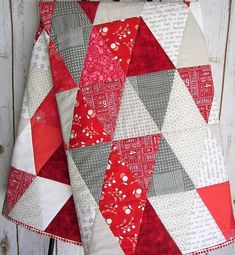1219 Best A Quilt Triangle Images In 2019 Quilts Quilt