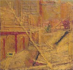 Frank Auerbach  http://artobserved.com/artimages/2009/12/Auerbach-Maples-Dem-1960-Via-NYT.jpg