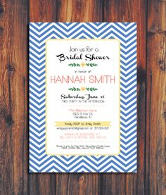 Wedding Shower Invitation by ConteurCo