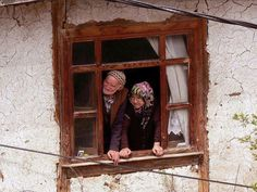photos from the world ( We Are The World, People Around The World, Through The Looking Glass, Through The Window, Old Folks, Winter Cabin, Turkish Art, Creative Photography, Windows And Doors