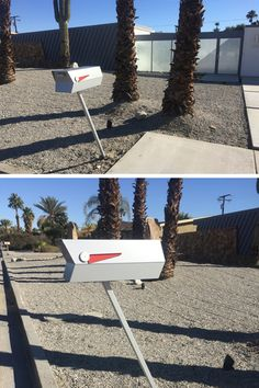 An Anodized Aluminum Effect modbox was the first purchase for Travis' new home in Palm Springs. Perfect match! modboxusa.com